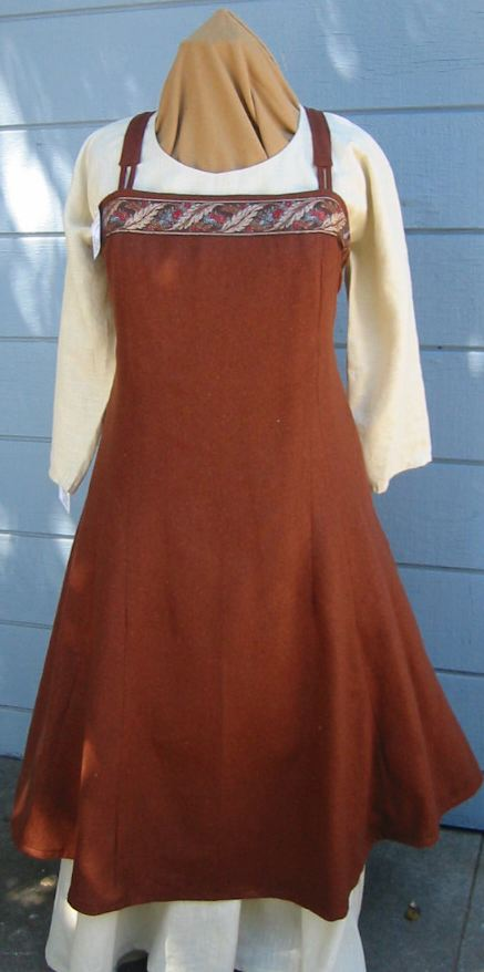 Viking Style Apron Dress